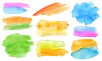 手描き水彩フレーム