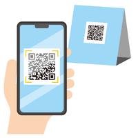 スマートフォン QRコード決済