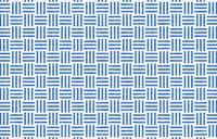 透過背景の青地に白い掠れ模様の和柄:三崩し