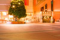 仙台駅前の夜景(宮城県・仙台市)