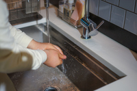 手洗い予防のイメージ