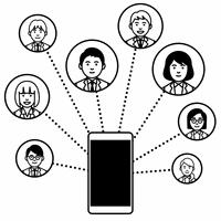 関連図 スマートフォン
