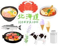 北海道の料理や名産品のセット