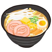 味噌ラーメン 北海道