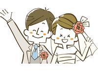 ウェディング-新婚夫婦