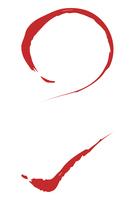 筆素材:丸とバツ印のベクターイラスト