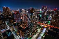 東京都品川区の高層マンション群