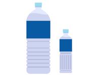 ペットボトル入りの水