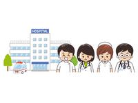 総合病院と医療従事者