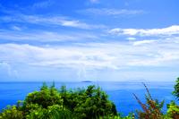熱海城の天守から眺める街並み