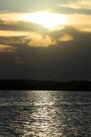 弁天島から見る夕景