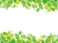 シームレスな新緑の背景