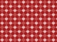 ハートとチェックのパターン