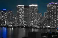 豊洲から見える東京の夜景