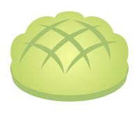 メロンパン(緑)