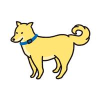 シンプルでかわいい柴犬