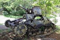 ラストコマンドポストの戦車 (サイパン)