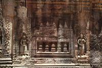 タ・ソムの連子窓(未完成) (カンボジア アンコール)