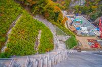 八ッ場ダムの建設現場