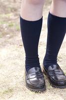 女子高生の足元
