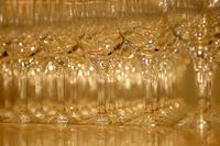 並んだグラス