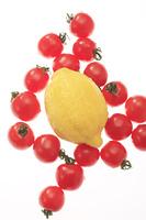 レモンとプチトマト