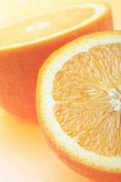 オレンジの輪切り