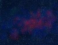 CG、星空