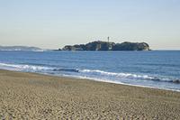 辻堂海岸からの江ノ島