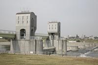 登戸多摩川堤防