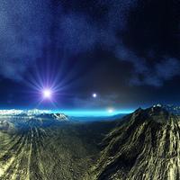 惑星のクレーター