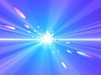 光速の球体