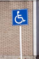 身体障害者用駐車スペース