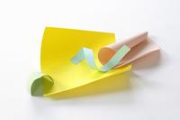 紙のオブジェ