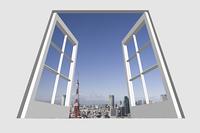 窓から東京の景色