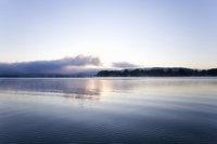 ミシシッピー川の夜明け