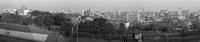 原宿の街俯瞰 青山、渋谷方面