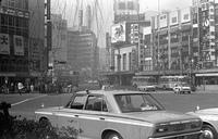 渋谷・ハチ公前交差点