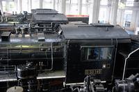 D50 140号機他蒸気機関車運転室