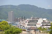 琵琶湖汽船ビアンカ、ミシガンと比叡山
