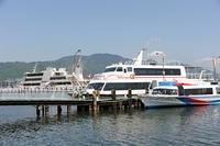 琵琶湖汽船ランシングとリオグランデ