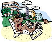 マイアミビーチ市のマイアミビーチ