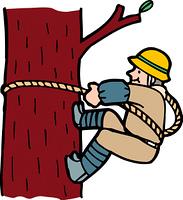 木登りの画像素材40105622 イラスト素材ならイメージナビ