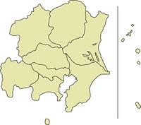 関東甲信越の地図