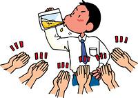 ビール早飲み