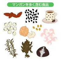 マンガンを多く含む食品