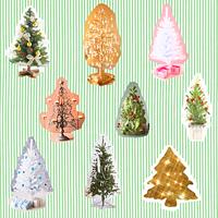 コラージュ~クリスマスツリー~