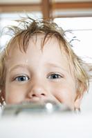 Boy in a Bathtub
