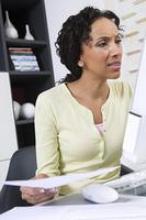 Woman Doing Personal Finances