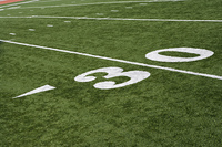 Detail of American Football Ground